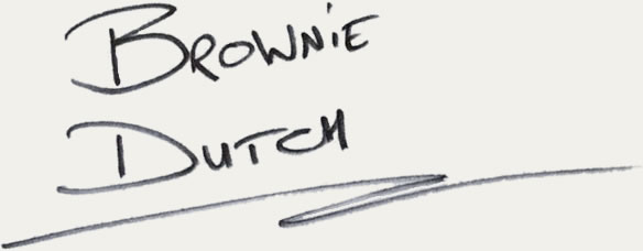 handtekening brownie dutch